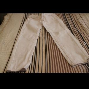 Joes jeans girl size 7 white